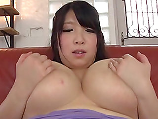 Big breasted Shizuku Amayoshi ravished with a vibrator