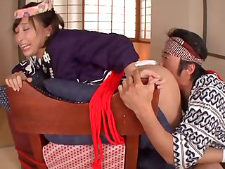 Kimito Ayumi attacked by a guy with an erected prick