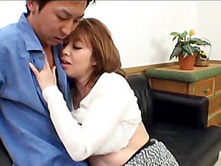 Kazama Yumi is a cock craving MILF yearning to feel a cock