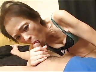 Asian Granny fucked