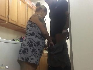the Lust God @i8her314 fucking Lusty in the kitchen
