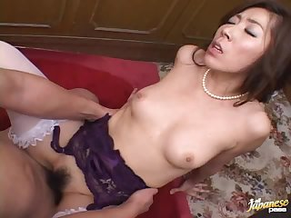 Classy MILF Spreads Her Legs For A Messy Creampie