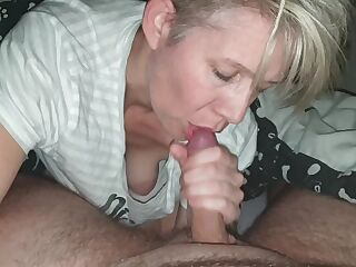 sexy mature cum in mouth