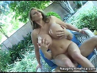 Naughty America - Find Your Fantasy Lisa Lipps fucks in the chair