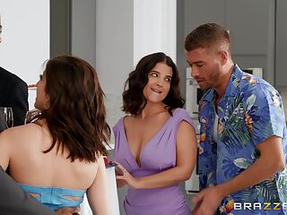 Hardcore fucking in the bedroom with anal loving LaSirena69
