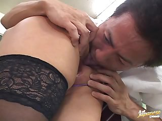 Hot School Teacher Gets Fucked By A Horny Student