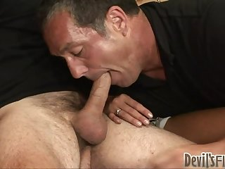 Naughty Chick Ends Up Fucking Two Bi Guys in a Hoy Video